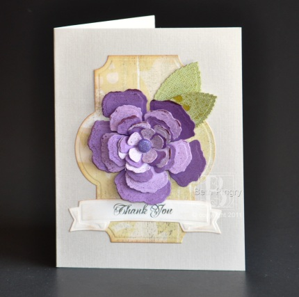 Beth Pingry Purple Rose Card