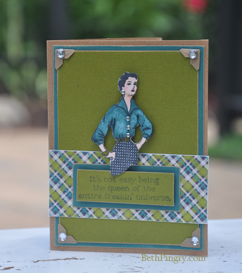 Beth Pingry Queen Card