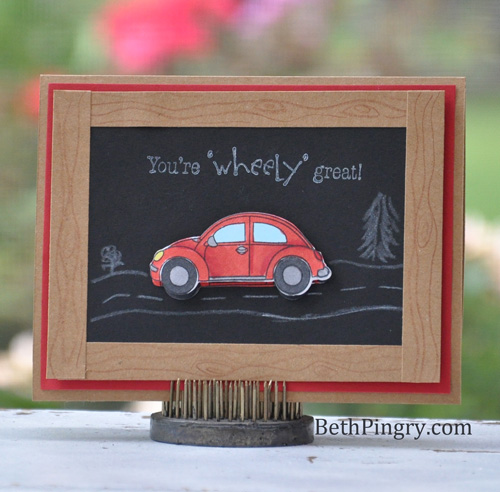 Beth Pingry Wheely Great Card
