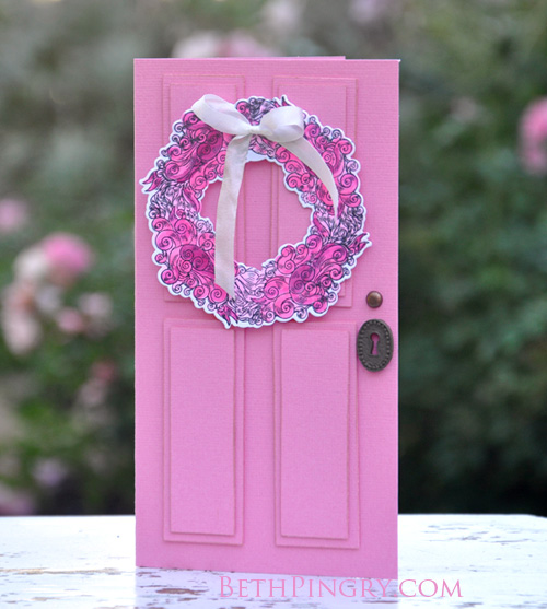 Beth Pingry Pink Door Card