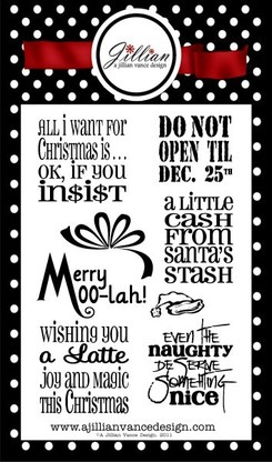 Merry Moolah A Jillian Vance Design stamps