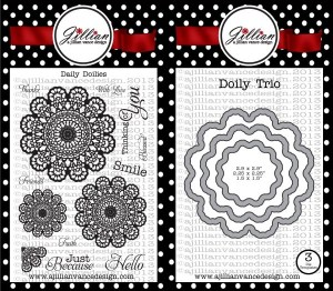 Daily Doilies Stamp and Die set