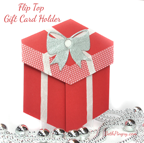 Beth Pingry Flip Top Gift Card Holder