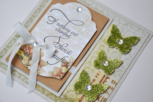 Beth Pingry Butterfly Card