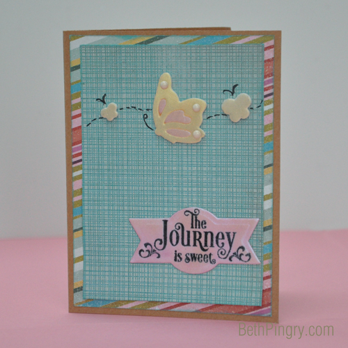 Beth Pingry The Journey card