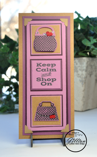 BethPingry-StayCalmShopOn Card