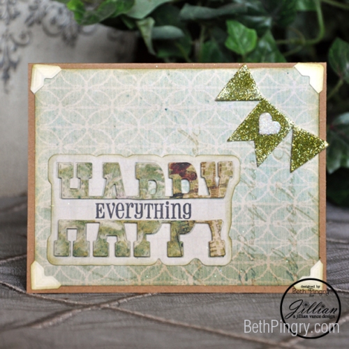 Beth Pingry Happy Everything Card