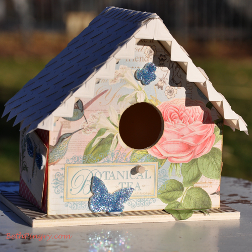 Beth Pingry Altered Birdhouse