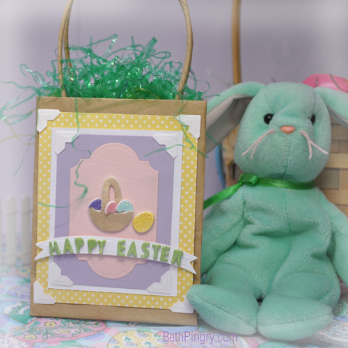 Beth Pingry Easter Basket Gift Bag