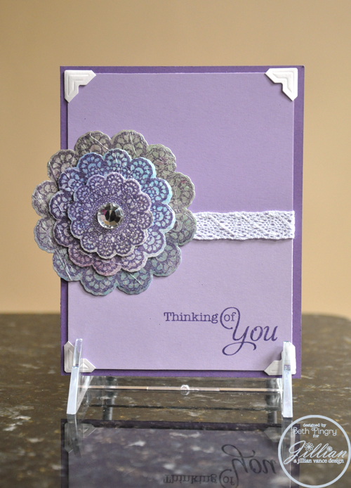 Beth Pingry Thinking of You card