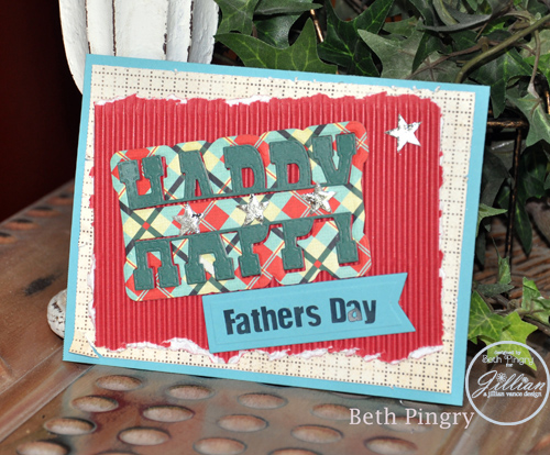 Happy Father's Day Card by Beth Pingry