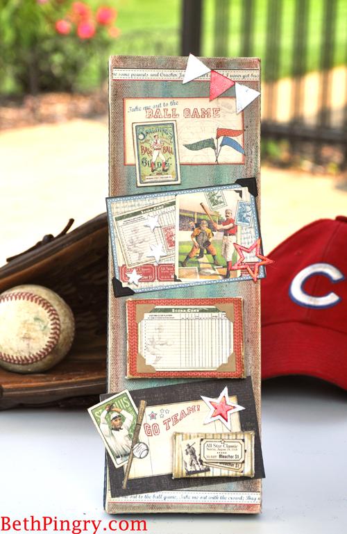 Beth Pingry - Baseball Canvas