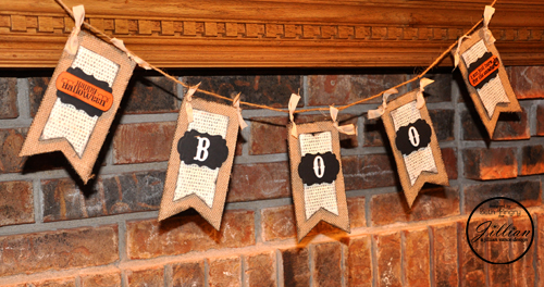 Boo Banner by Beth Pingry