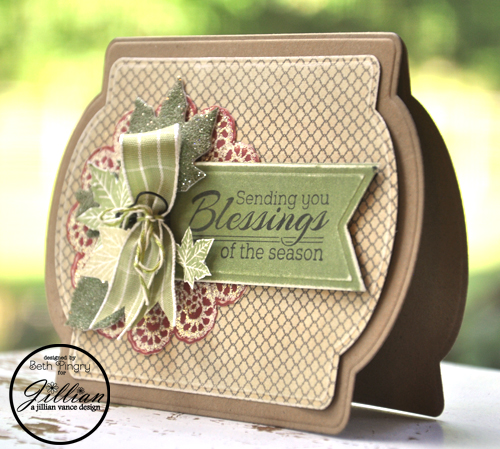 Beth Pingry Fall Blessings Card