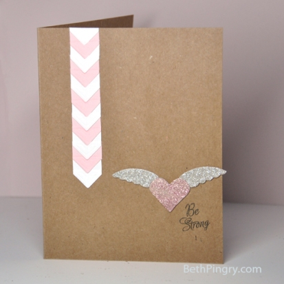 Pink October Card by Beth Pingry
