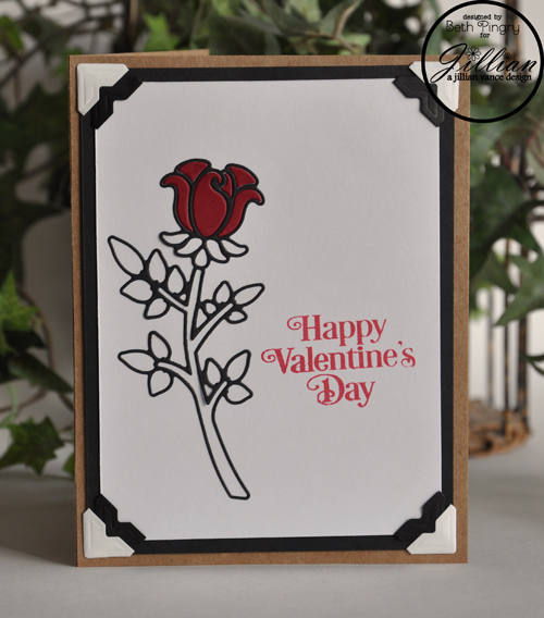 Valentine's Day Rose card by Beth Pingry