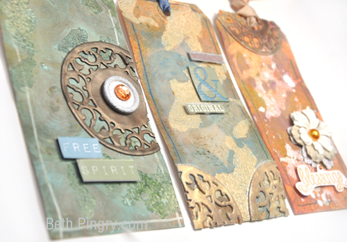 Beth Pingry - Artsy Tags Trio