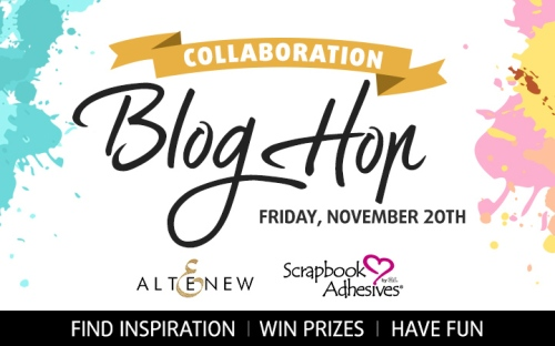 Scrapbook Adhesives by 3L and Altenew Blog Hop