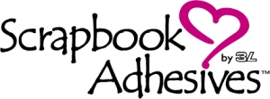 Scrapbook Adhesives Logo Black