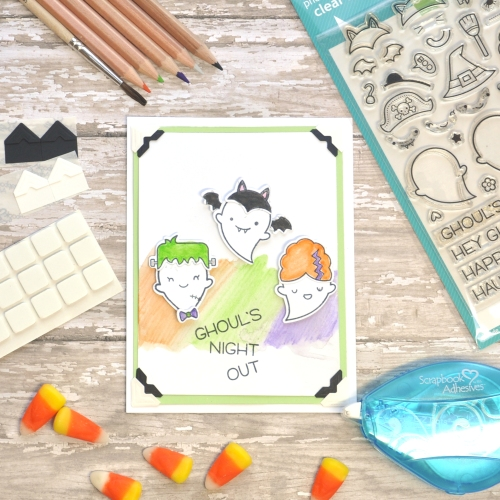Ghouls Night Out Card by Beth Pingry