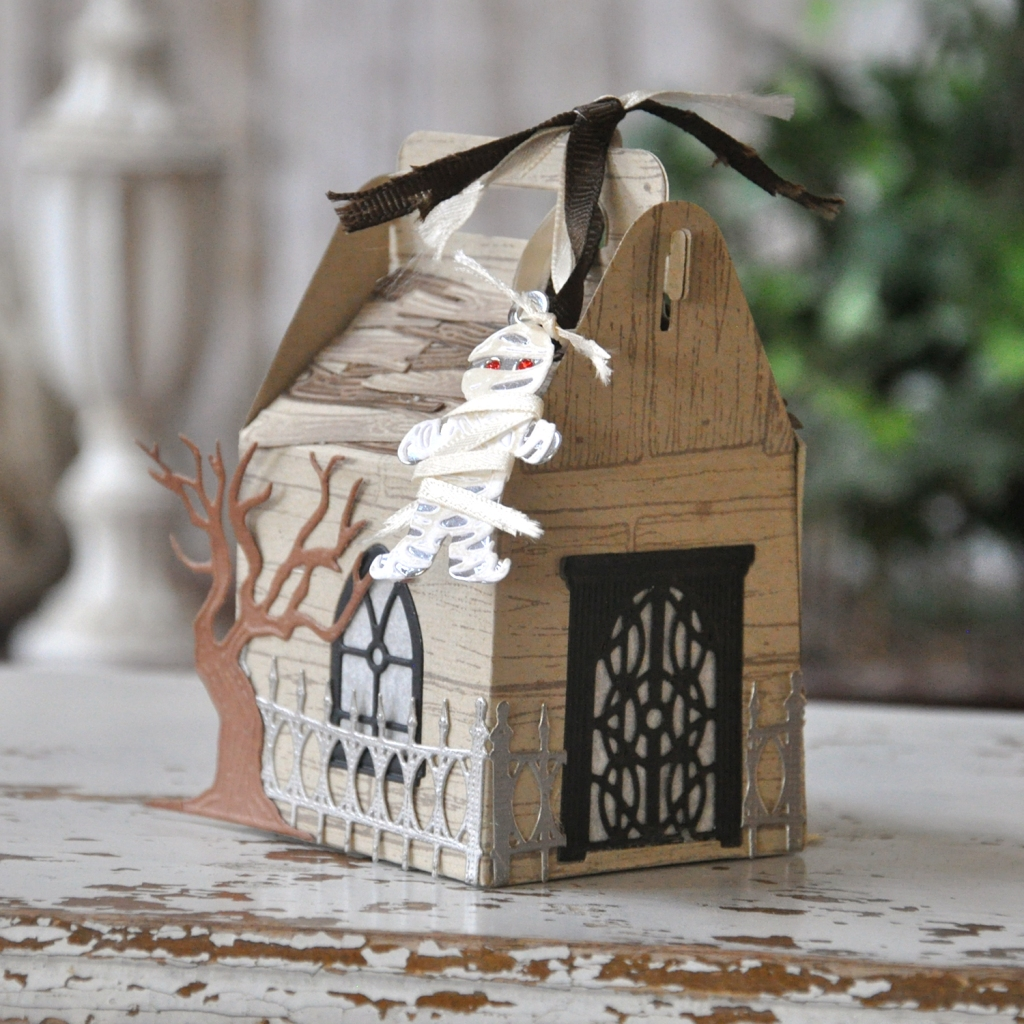 Halloween Gable Box by Beth Pingry for Amazing Paper Grace & Spellbinders