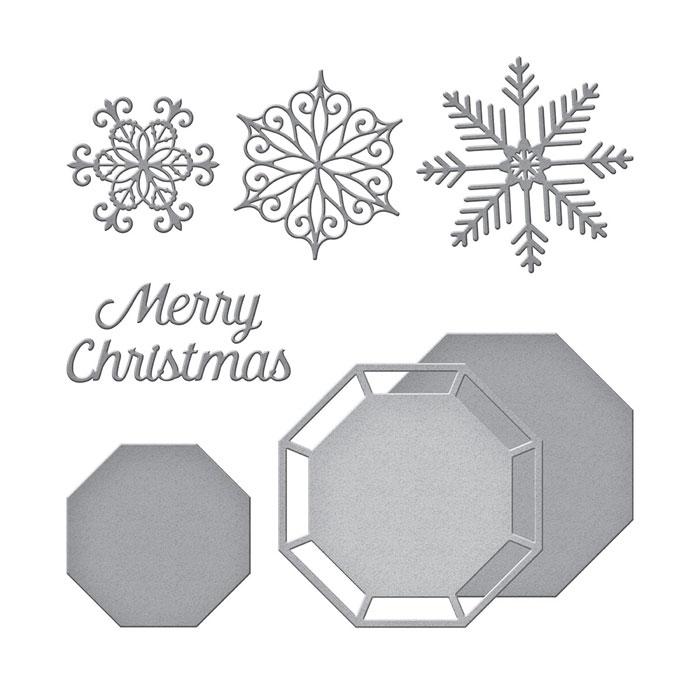 Amazing Paper Grace by Spellbinders S5-249 Snowflake Splendor dies
